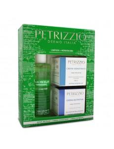 Pack Agua Micelar + Crema Hidratante + Crema Nutritiva Petrizzio