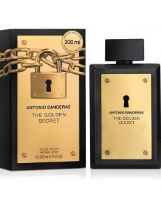 GOLDEN SECRET EDT 200ML - ANTONIO BANDERAS