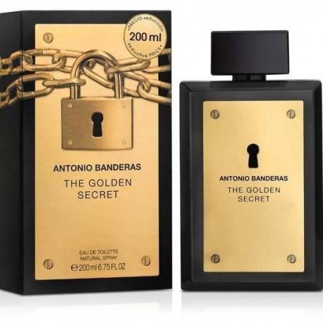 GOLDEN SECRET EDT 200ML - ANTONIO BANDERAS