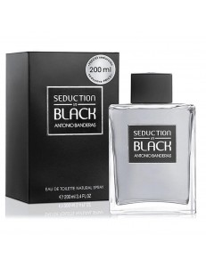 SEDUCTION IN BLACK EDT 200ML - ANTONIO BANDERAS