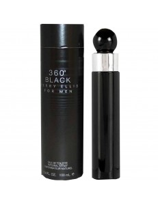 360° BLACK EDT 100ML - PERRY ELLIS