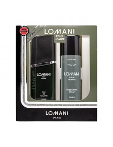 LOMANI EDT 100 ML + DEO SPRAY
