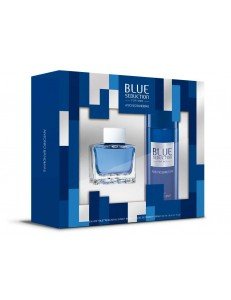 BLUE SEDUCTION EDT 50 ML + DEO SPRAY