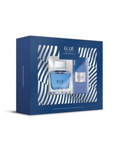BLUE SEDUCTION EDT 100ML + DEO SPRAY