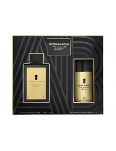 GOLDEN SECRET EDT 100ML + DEO SPRAY