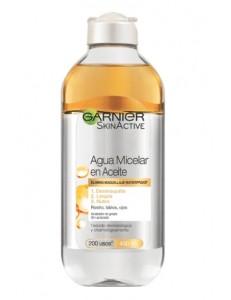 Agua Micelar en Aceite Oléo Garnier 200ml Desmaquilla limpia y nutre