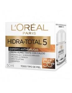 Crema hidra total 5 Antiarrugas 55+ Loreal 50ml