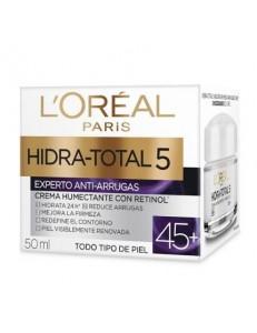 Crema hidra total 5 Antiarrugas 45+ Loreal 50ml