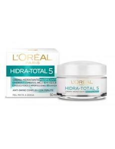Crema hidratante hidra-total 5 Matificante Loreal 50ml